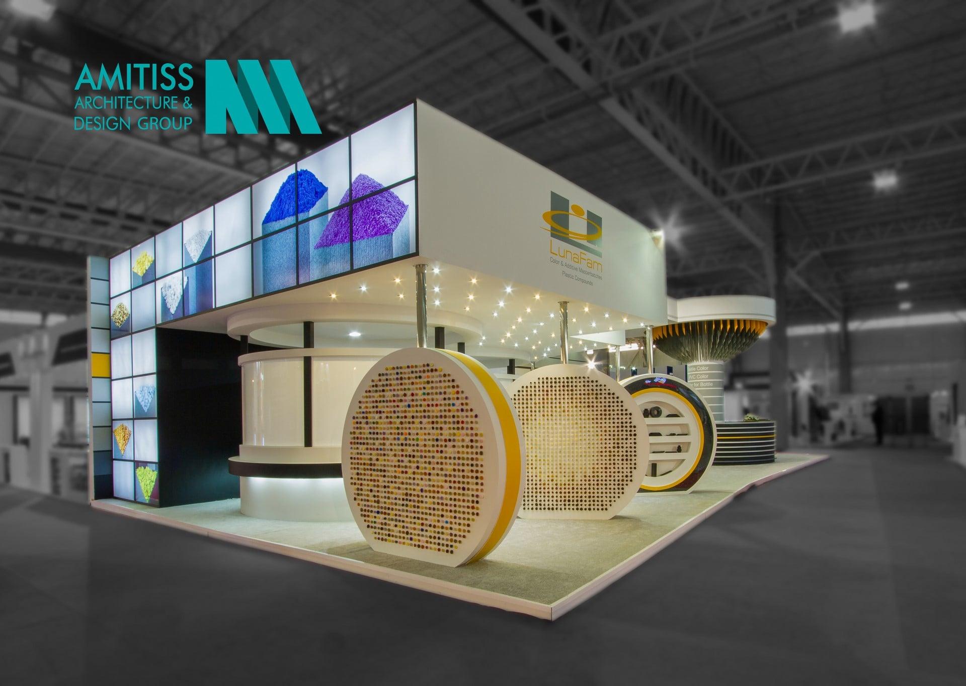غرفه سازی شرکت لونافام