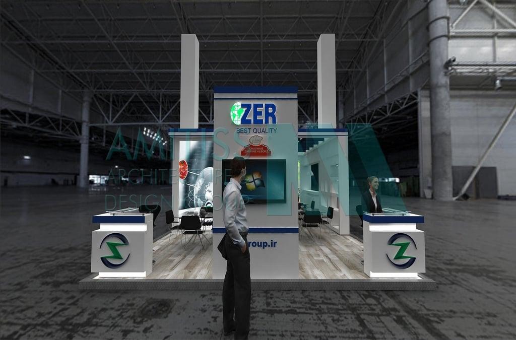 غرفه سازی شرکت چاشنی زرین البرز