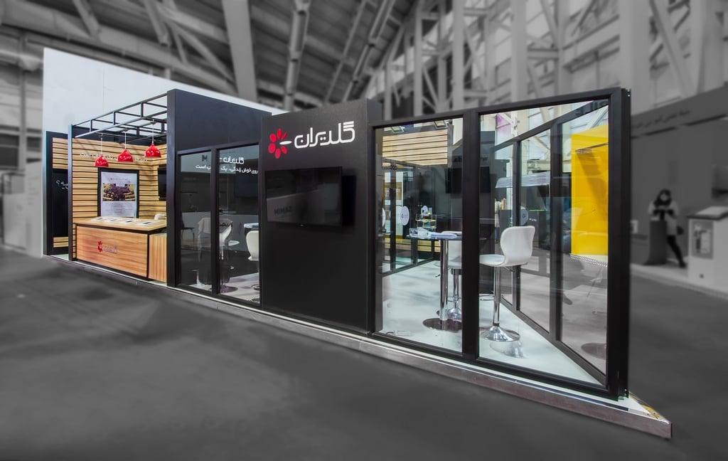 غرفه سازی شرکت ال جی (نمایشگاه کار)