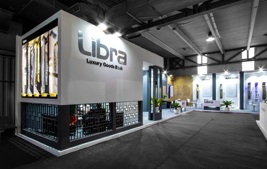 غرفه سازی شرکت لیبرا