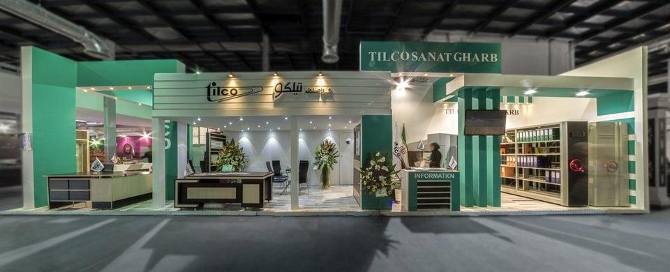 غرفه سازی شرکت تیلکو