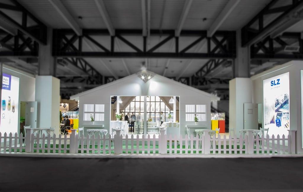 غرفه سازی شرکت لفاف زرین