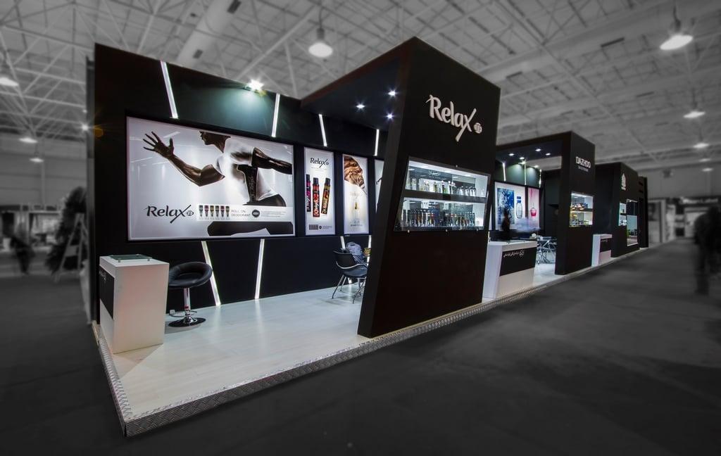 غرفه سازی شرکت ریلکس