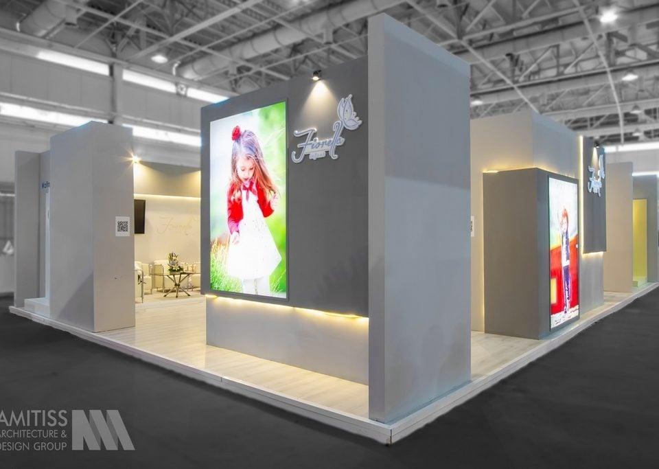 غرفه سازی شرکت فیورلا