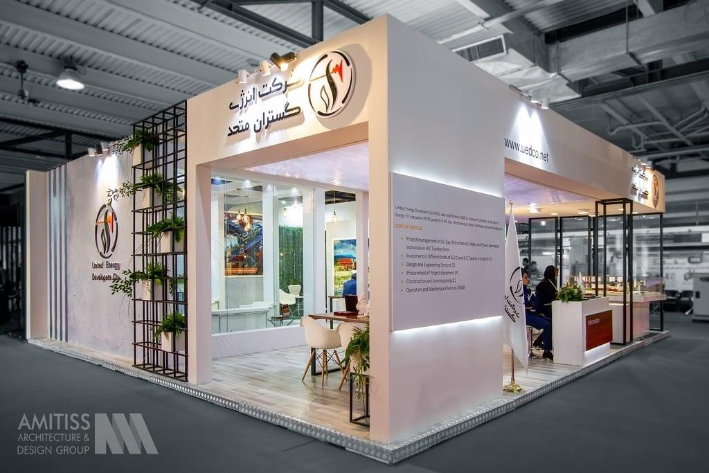 غرفه سازی شرکت انرژی گستران متحد