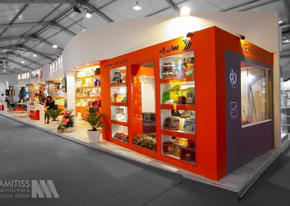 غرفه سازی شرکت مهران پک