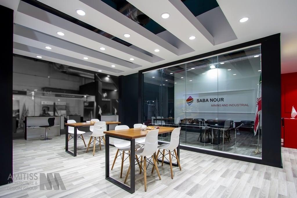 غرفه سازی شرکت صبا نور