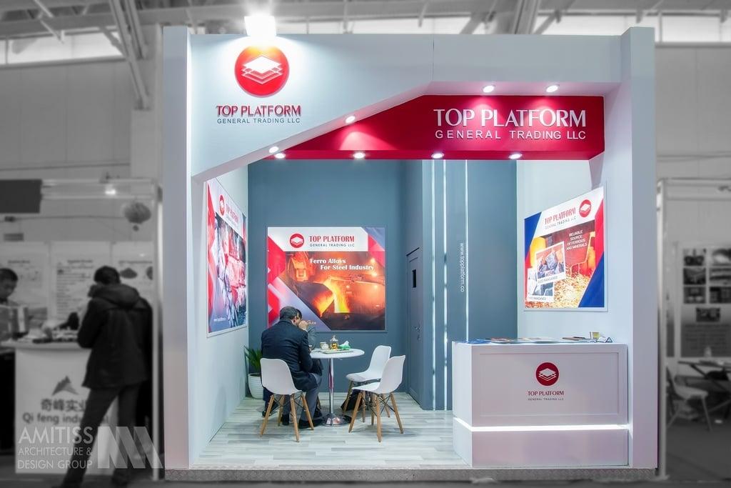 غرفه سازی شرکت Topplatform